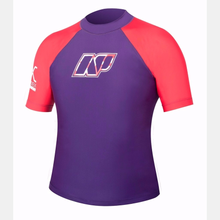 [WNNRSD473] JUNIOR RASHGUARD SHORT SLEEVE