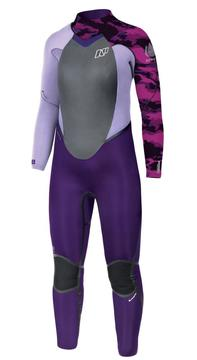 SERENE FULLSUIT 5/4 LADIES PURPLE CAMO