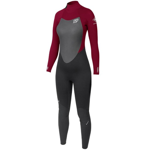 SPARK FULLSUIT 5/4 LADIES WINE BLACK